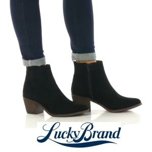 Simple Chic Lucky Brand Booties
